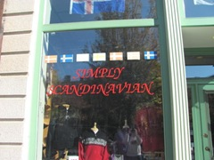 11.2011 Maine Portland simply scandinavian sign