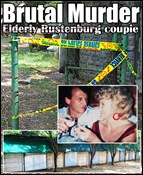 DU PLESSIS COUPLE WAS TOTALLY HELPLESS WHEN MURDERED RUSTENBURG