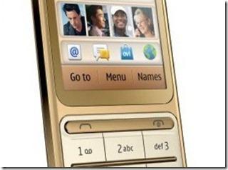Spesifikasi Nokia C3-01 Gold Edition Murah