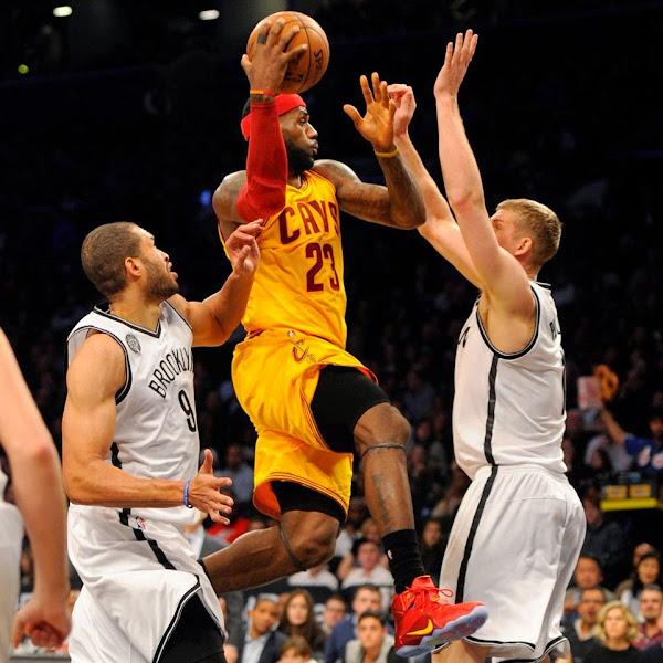 PE Spotlight Nike LeBron 12 Cleveland Cavaliers PE