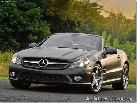 Mercedes-Benz SL550 Night Edition3