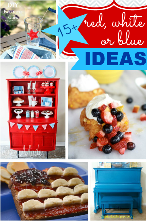 15 red, white or blue ideas {features at GingerSnapCrafts.com}_thumb[11]