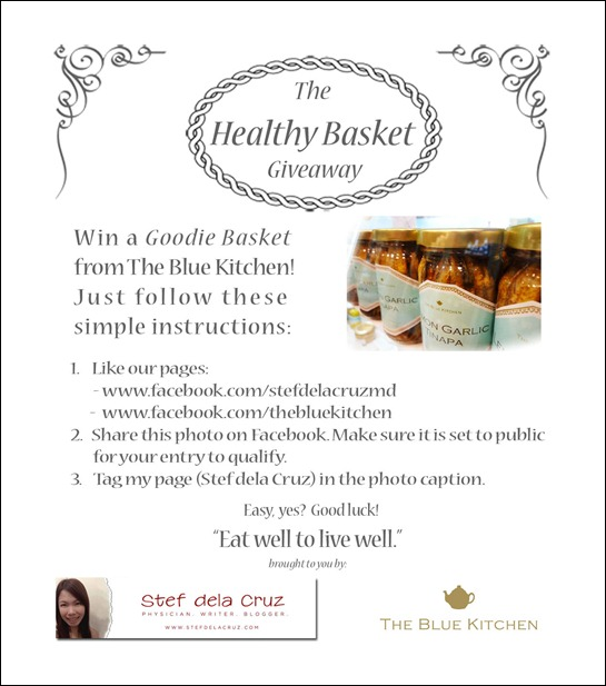 Healthy Basket Giveaway