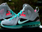 nike lebron 9 ps elite grey candy pink 7 14 LeBron 9 P.S. Elite Miami Vice Official Images & Release Date