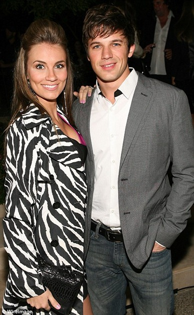 matt lanter with fiance
