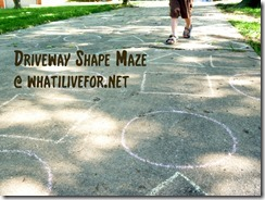 Driveway Shape Maze @ whatilivefor.net