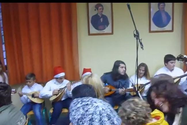 Video από τη Μαντολινάτα Ελειού Πρόννων