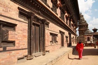 città medievale di Bhaktapur
