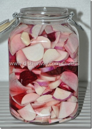 Pickled Turnips Recipe by www.dish-away.com