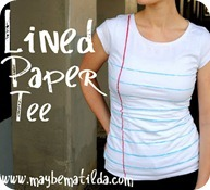Lined Paper Tee Tutorial[7]