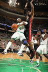 lebron james nba 130127 mia at bos 14 Closer Look at Nike LeBron X Black Suede PE by Nike Sportswear
