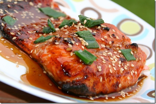 Toasted Sesame Salmon