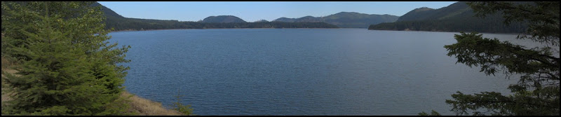 Lake Cushman Panorama