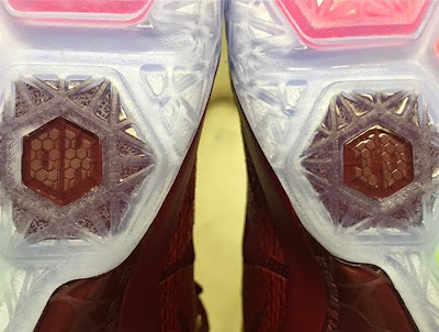 nike lebron 12 id outsole OH IO Takes Place of #6 on the Bottom of LeBron 12s