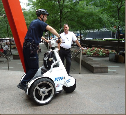 Police segways