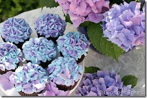 Hydrangea Cupcakes2