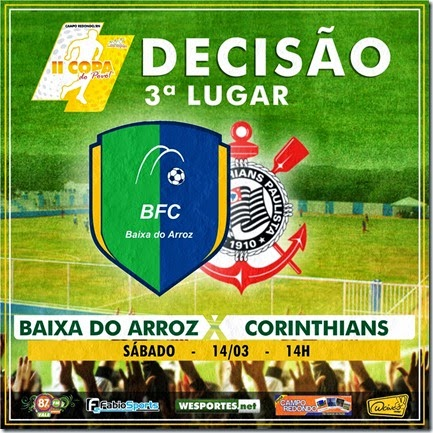 Copa do Povo 2014-2015 QUARTAS - SEMI - 3 LUGAR - campo redondo - baixa do arroz - corinthians
