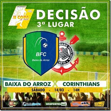 Copa do Povo 2014-2015 QUARTAS - SEMI - 3 LUGAR - campo redondo - baixa do arroz - corinthians