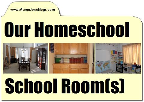 Mama Jenn's Homeschool School Room(s)
