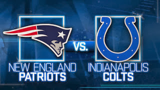 Patriots vs Colts