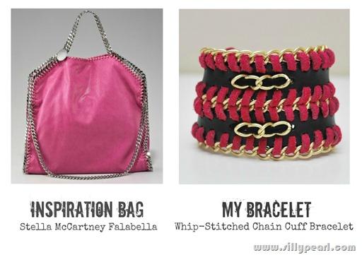 Stella McCartney Falabella Inspired Cuff Bracelet