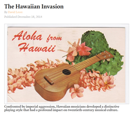 The Hawaiian Invasion - The Appedix 201410