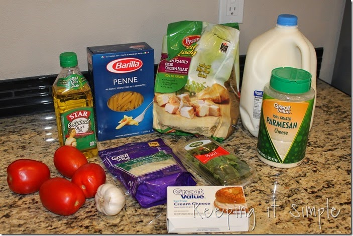 #ad 3-cheese-penne-chicken-pasta #summerofgiving (4)