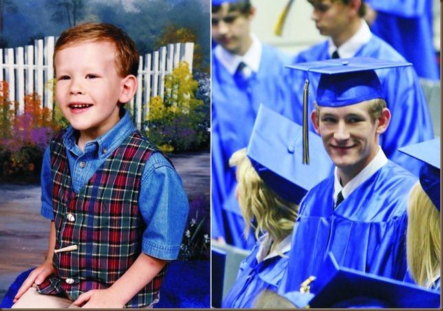Trenton's graduation