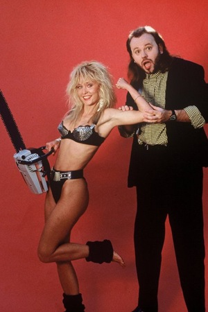 Screaming in high heels Linnea Quigley
