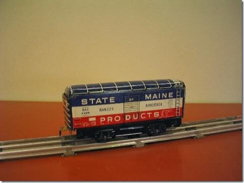 Marx 6-inch Bangor & Aroostook Boxcar