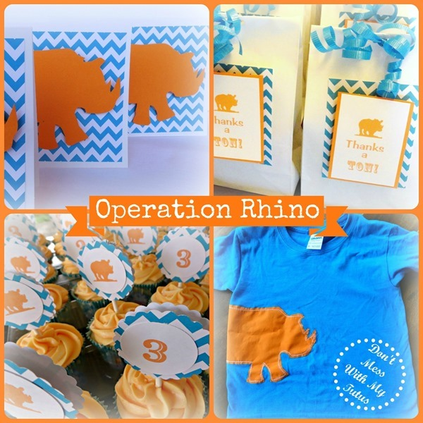 Operation Rhino Collage