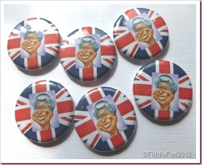 Diamond Jubilee Crafts Queen badges