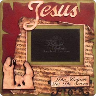 christmas nativity scrapbook layout idea-500