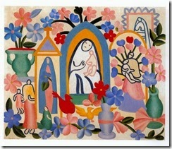 religião brasileira tarsila