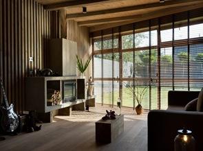 Interiorismo chimenea en salon