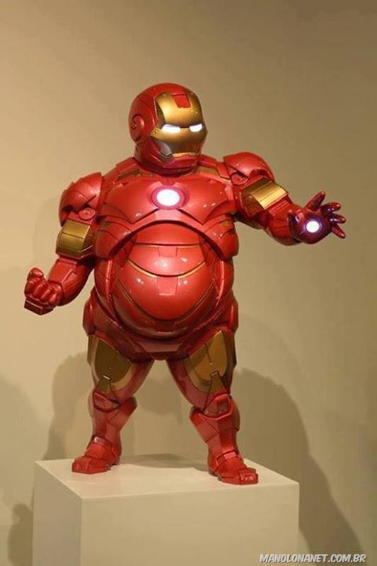 Homem de Ferro Obeso