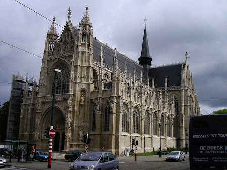 Things to do in Brussels: visit Notre Dame de Sablon Church