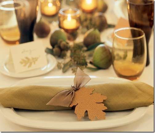 leaf-place-setting