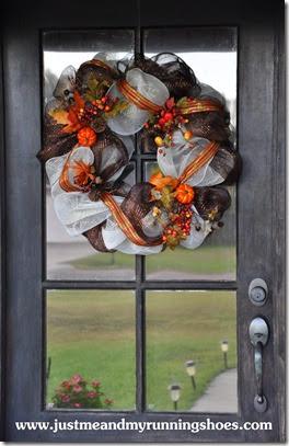 Deco Mesh Wreath 17