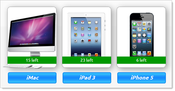 Apple products that can be &quot;won&quot;