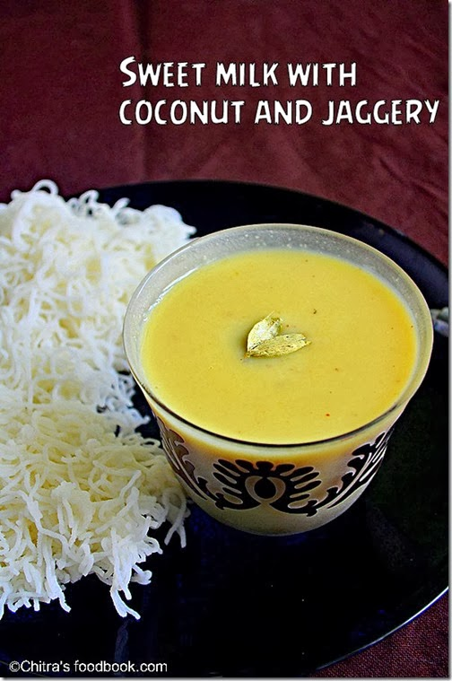 sweet milk-jaggery