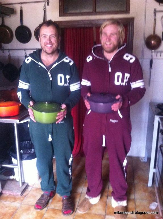 Cooking pot men