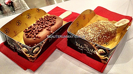 Magnum Temptation naked Ice-Creams signature smooth Hazelnut fruit bon bon ice cream syrup chocolate  sauce caramelised vanilla honeycombs pistachios coconut sea salt caramel pop rock matcha green tea