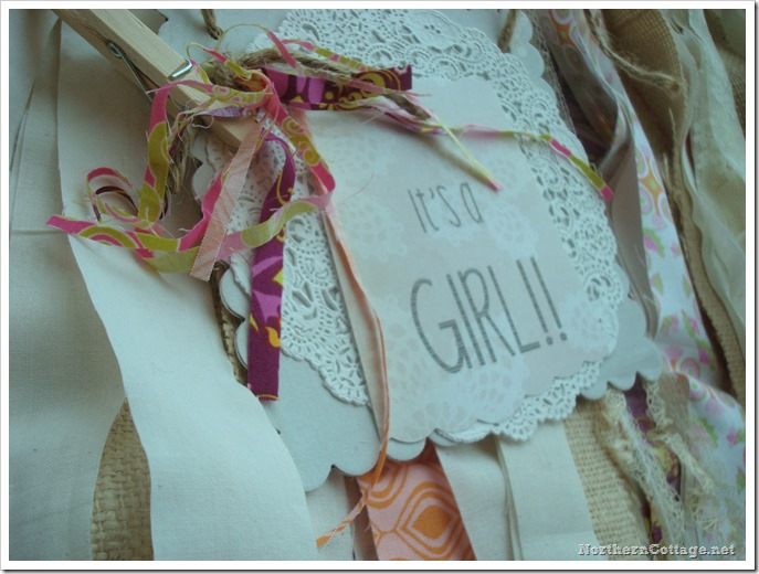 {Northern Cottage} its a GIRL