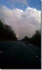 Rainbow over Richmond, Winter 2011 Family Trip (3)