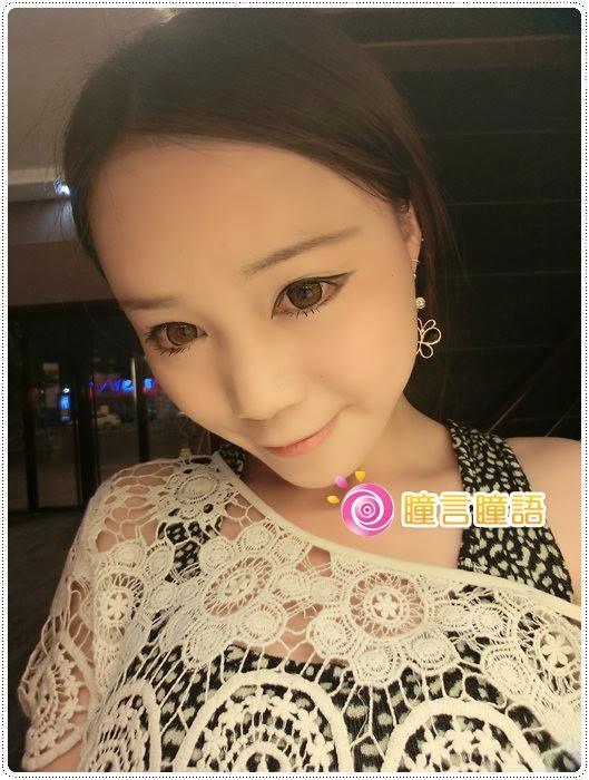 日本KRIAKRIA隱形眼鏡-Sweety Eye 糖果巧克力CIMG1906
