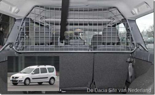 Honden-bagagerek Dacia Logan MCV 01