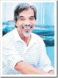 LATIFF Mohidin bersama salah sebuah karyanya yang dipamerkan di Voyage-Kembara Latiff Mohidin di Galeri Petronas.<br /><br /><br /><br /><br /><br />NOTA:<br /><br />TERBITAN<br /><br />UTUSAN<br /><br />MEGA<br /><br />18 JANUARI 2007<br /><br />KHAMIS<br /><br />MUKA 20