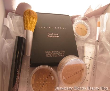 مزارع Sheer Cover Makeup