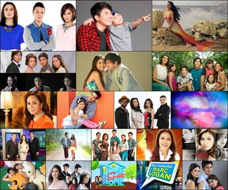 ABS-CBN sweeps all spots in top 20 programs of 2014